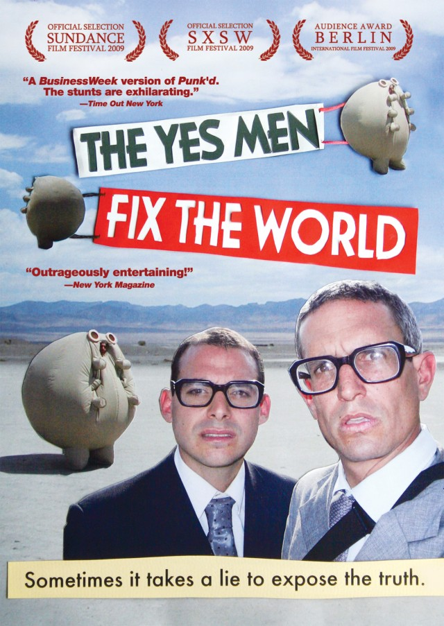 Yes Men Fix the World DVD on Amazon.com